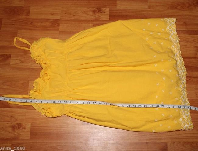 Candie's short dress yellow on Tradesy