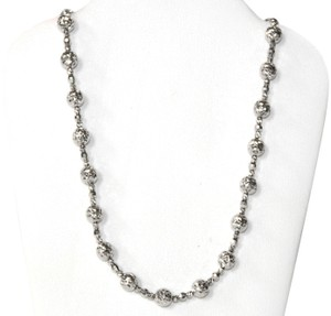 Other 14KT. White Gold Candy Crystal Cut Chain for Women