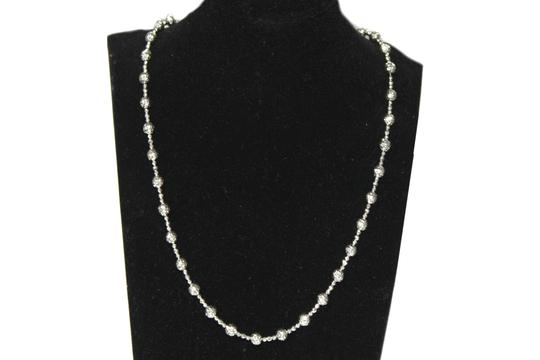 Other 14KT. White Gold Candy Crystal Cut Chain for Women Image 1