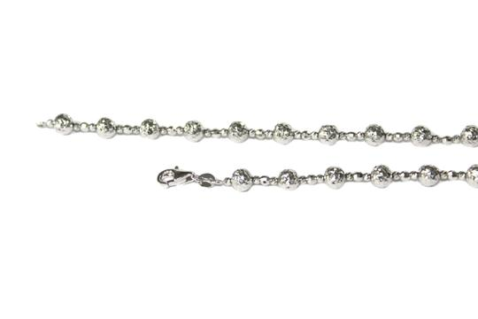 Other 14KT. White Gold Candy Crystal Cut Chain for Women Image 3