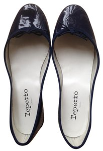 Repetto Ballerina Made In France Navy blue Flats