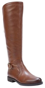Franco Sarto brown tan gold Boots