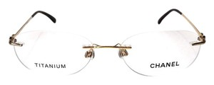 Chanel CH 2164 (color) GOLD Semi Round Glasses -FREE 3 DAY SHIPPING