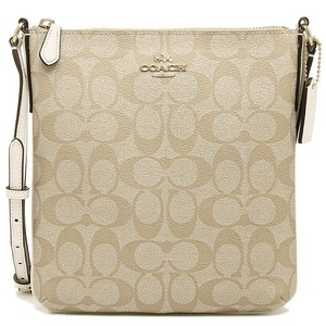 Coach Signature Pvc Cross Body Bag