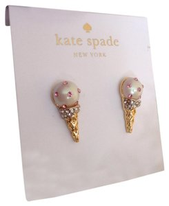 Kate Spade Kate spade Ice Cream Cone Earrings
