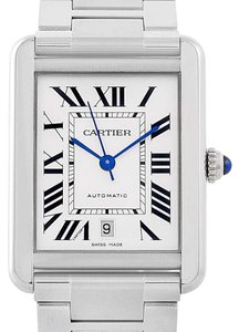Cartier Cartier Tank Solo XL Automatic Stainless Steel Watch W5200028