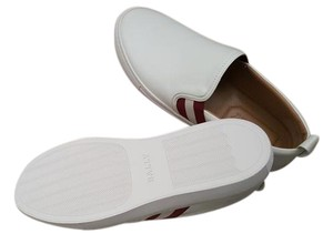 Bally Mens Slip On New Unworn white Flats