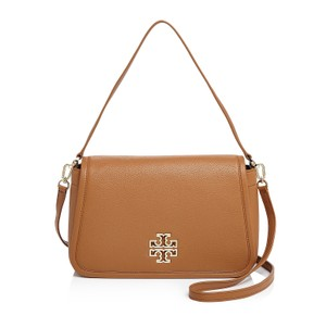 Tory Burch Britten Leather Shoulder Bag