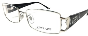 Versace VERSACE Women's Eyeglasses Optical Frame Silver Black