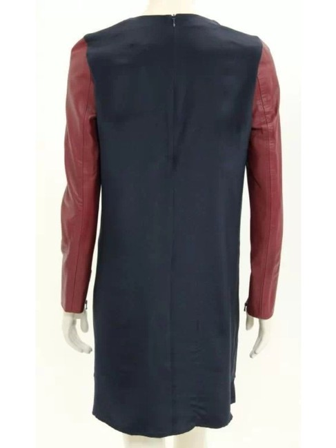 3.1 Phillip Lim Leather Silk Chic Dress