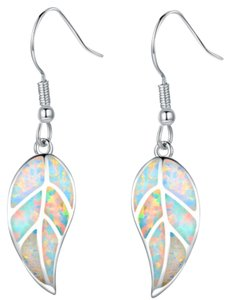 Other ** NWT ** OPAL ( 18K GOLD ) DANGLE EARRINGS