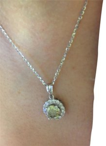 Pre-owned Moissanite Diamond Necklace