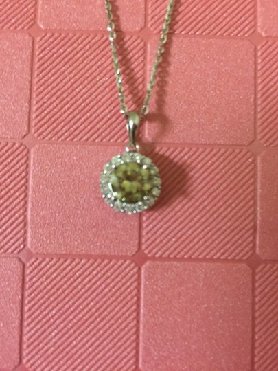 Pre-owned Moissanite Diamond Pendant