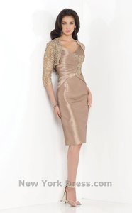 Social Occasions By Mon Cheri Bronze/ Gold 115835 Dress