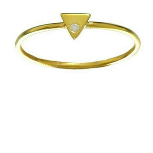 Other 14k gold with cz midi stacking ring