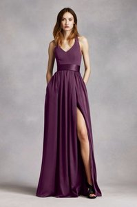 Vera Wang Plum Vw360214 Dress