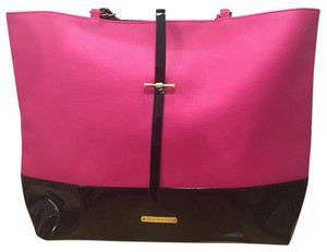 Juicy Couture Tote in Fuchsia and Black