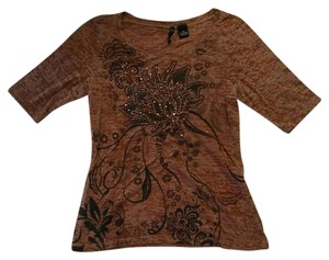 New Directions Top Brown
