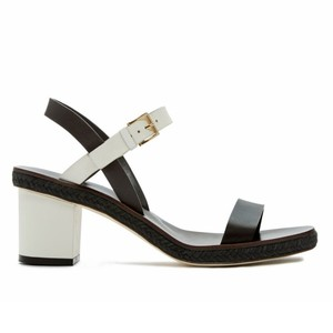 Tory Burch Dark brown/Ivory Sandals