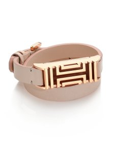 Tory Burch $180 NWT FOR FITBIT FRET DOUBLE-WRAP BRACELET