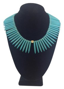 CLA Haute Jewellery Spikey Turquoise Necklace
