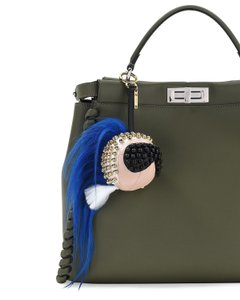 Fendi New Fendi Karlito Punkarlito Studded Charm for Handbag
