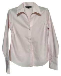 Jones New York No Iron Wrinkle Resistant Button Down Shirt Pink