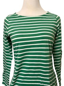 Boden T Shirt Green-White