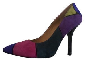 Nine West Suede Multi suede Pumps
