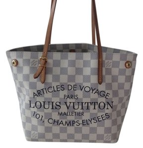Louis Vuitton Malletier Summer Tote in Damier Azur