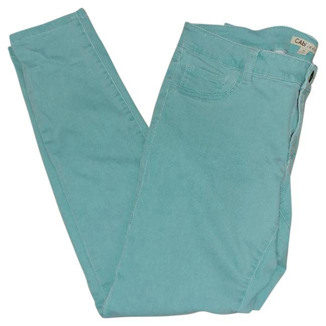 Item - Turquoise (Thin Mint) Light Wash Straight Leg Jeans Size 33 (10, M)