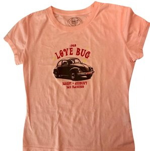 Jakes Dry Goods T Shirt Pink