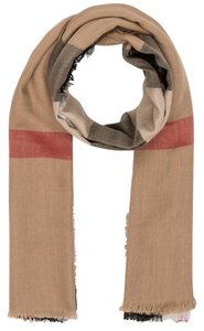 Burberry Burberry Kefiah Camel Lightweight London Travel Square scarf
