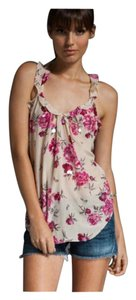 Rebecca Taylor Flowers Size 4 Top Pink