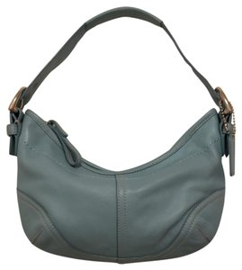 Coach Leather Handbag Hobo Bag