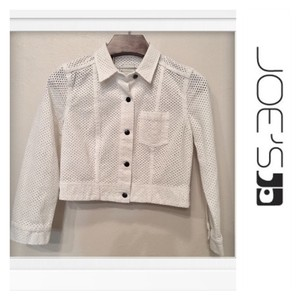 JOE'S Jeans Ivory Womens Jean Jacket