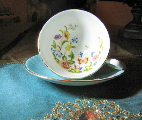 Aynsley Aynsley Fine Bone China Cup and Saucer