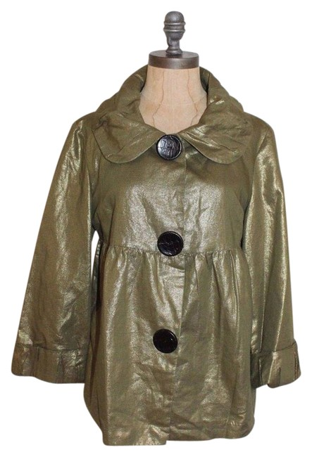 Item - Green Spinach Metallic Jacket Size 6 (S)