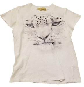 Wildfox Label T Shirt White