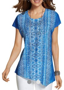 Chico's Top Blue