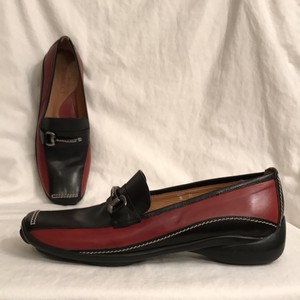 Sesto Meucci Slip Ons Leather Comfortable Walking Brown Black Flats
