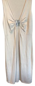 Magaschoni short dress Tan Embellished Cotton&cashmere on Tradesy
