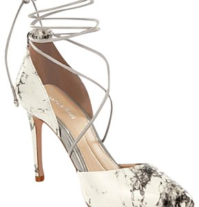 Gianni Bini White Marble Pumps