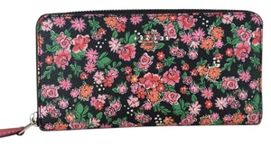 Coach Coach Accordion Wallet in Posey Cluster Floral Style 57641