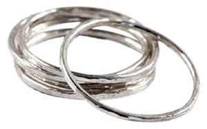 Other 10 Sterling Silver Thin Stackable Stacking Ring Combo - Choose Style!