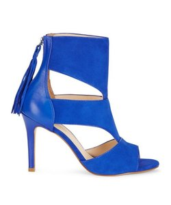 Saks Fifth Avenue Cobalt Sandals