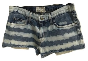 Current/Elliott Cut Off Shorts Blue