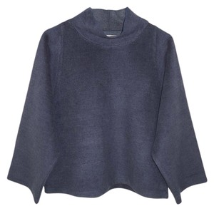 Madewell Boxy Oversized Soft Fleece Herringbone Sweater