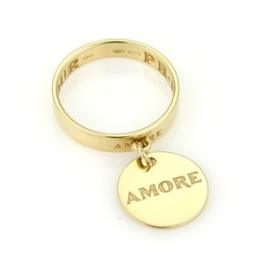 Pasquale Bruni Amore 18k Yellow Gold Charm Ring
