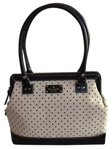 Kate Spade Satchel in Cream and Black